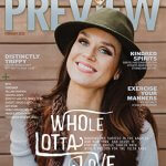 Front page of the Feb edition of Preview 918 magazine??! What an honor!